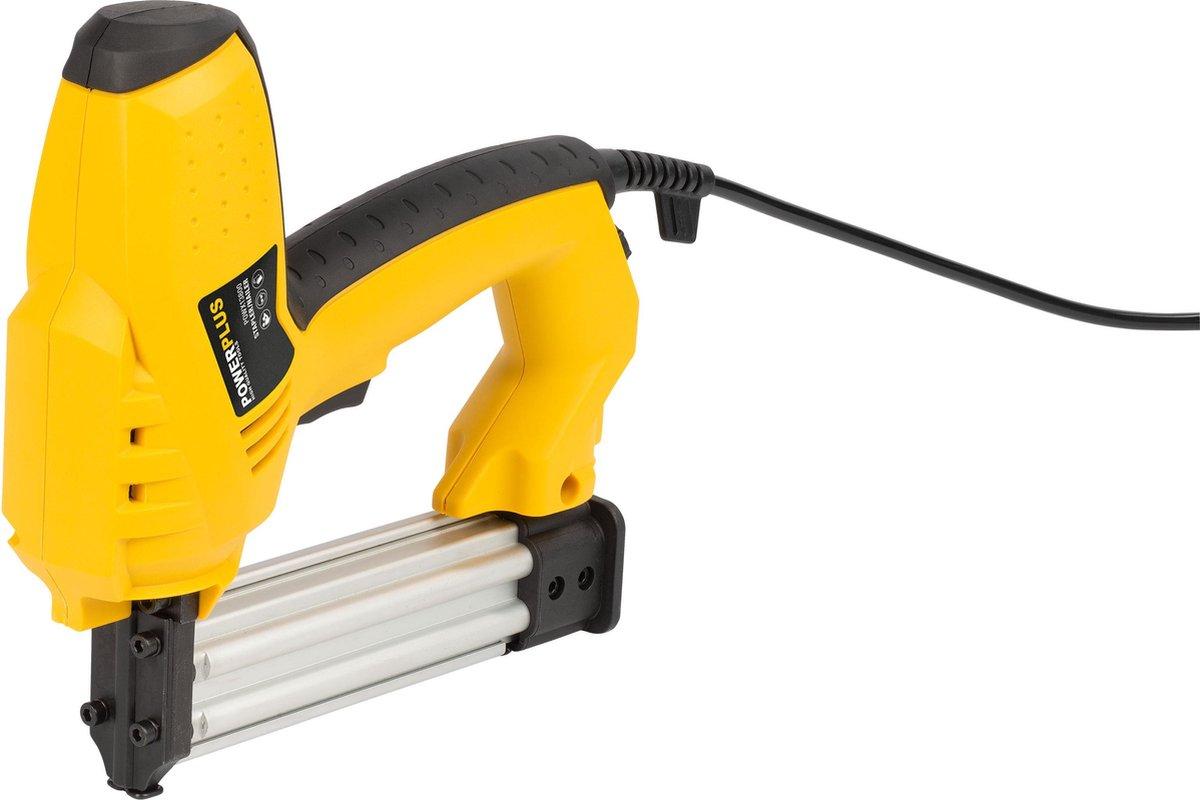Powerplus POWX13800 Tacker - 50W - Incl. 200 nagels en 300 nietjes