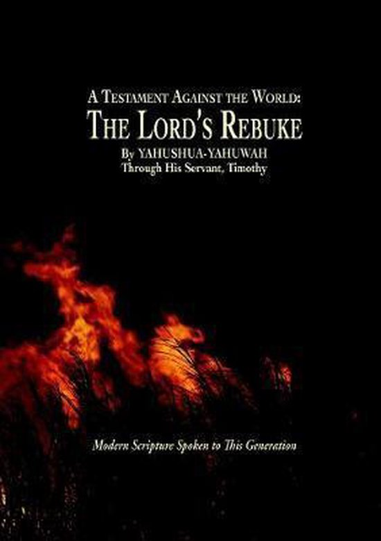 Boek cover A Testament Against the World van Yahushua Yahuwah (Paperback)