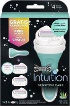 Wilkinson Woman Scheerapparaat Intuition Sensitive Care 1 set