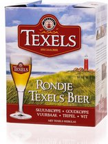 Rondje Texels Bier Bierpakket / Cadeauverpakking 5x30cl + glas