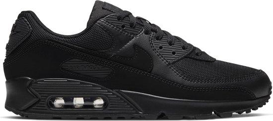 Nike Air Max 90 Heren Sneakers - Wolf Grey/Wolf Grey/Black - Maat 45