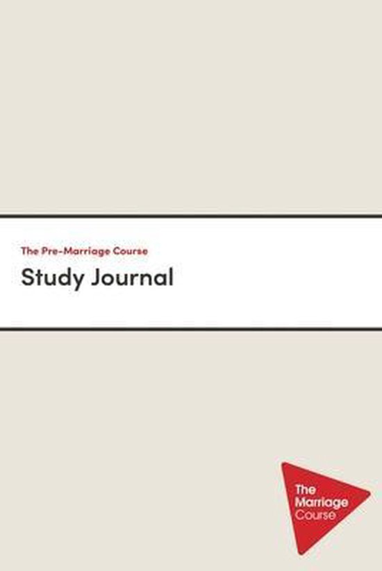 Boek cover The Pre-Marriage Course Study Journal van Nicky Lee (Paperback)