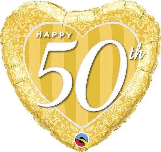 """Folie hart """"Happy 50th"""""""