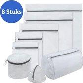 Waszak - Waszakje - Waszakken - Laundry bag - 8 Stuks - Wastas - Wasnet - Waszak groot - Waszakje lingerie - Waszakjes - Waszakjes wasgoed - Waszakken met rits