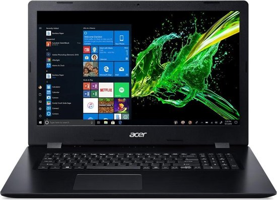 Acer Aspire 3 A317-51K-37GG 17.3 HD+ (1600x900) / i3-8130u / 8GB / 256GB M.2 SSD / DVDRW / Windows 10 Home