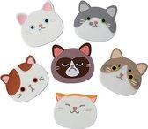 Onderzetters - Onderzetters voor glazen - Katten O