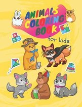 Animals coloring book for kids: Animals coloring book