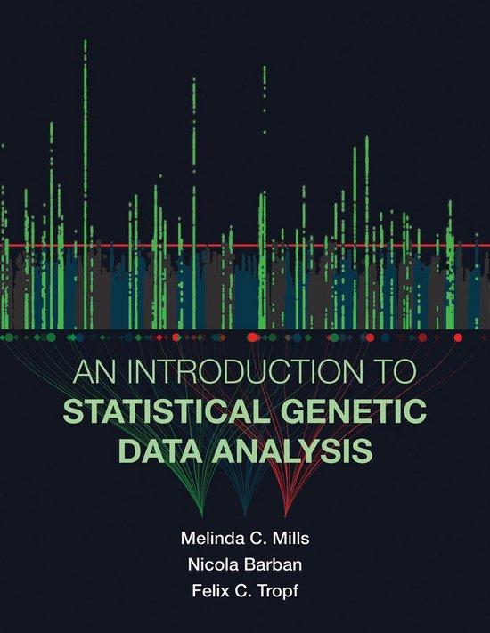 Boek cover An Introduction to Statistical Genetic Data Analysis van Melinda C. Mills (Paperback)