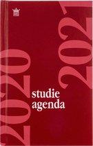 Schoolagenda 2020-2021 BASIC - Studie Agenda - Hard Cover ROOD