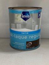 Levis lak satin-Binnen buiten-Geurarm-sneldrogend  0.75l-Voor perfecte afwerking-houtverf