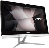 MSI Pro 20EX 7M-033XEU 49,5 cm (19.5'') 1600 x 900 Pixels Intel® Celeron® G 4 GB DDR4-SDRAM 1000 GB HDD Wi-Fi 5 (802.11ac) Wit Alles-in-één-pc