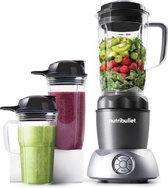 NutriBullet Select 2.0 - 10-delig - 1000 Watt - Blender - To Go Drinkbekers - Warme en Koude Bereidingen - Grijs