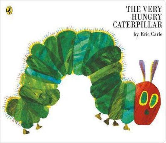 Boek cover The Very Hungry Caterpillar (Big Board Book) van Eric Carle (Onbekend)