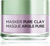 L'Oréal Paris Skin Expert Pure Clay Anti-roodheid kalmerend gezichtsmasker - 50 ml