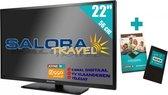 """Salora 22"""" Travel TV 12/230 Volt + Joyne CI + Geprogrammeerd"""