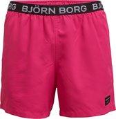 Bjorn Borg heren zwembroek loose shorts Scott - roze