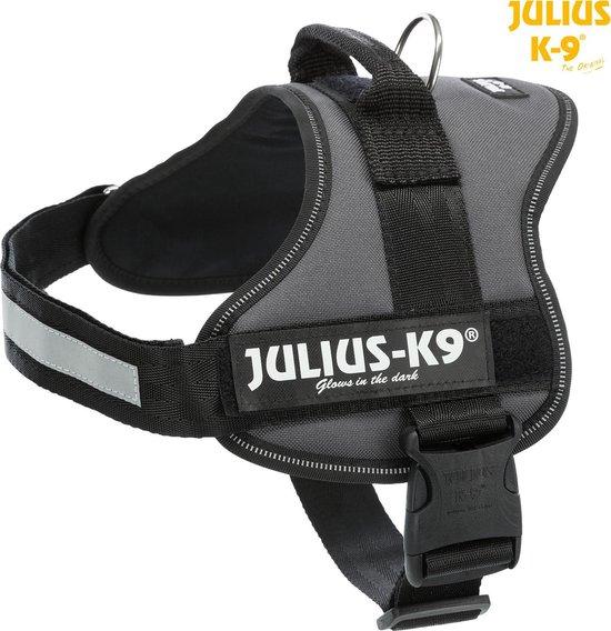 Julius-K9® Powertuig, Maat: 2XL/3 Buikomvang Maat: 82–116 cm/50 mm, antraciet