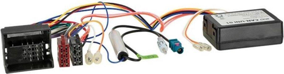 CAN-Bus Kit Opel Quadlock > ISO / Antenne > DIN