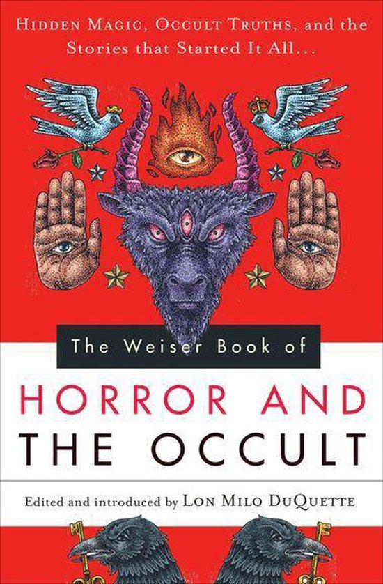 Boek cover The Weiser Book of Horror and the Occult van Sir Edward Bulwer Lytton (Onbekend)