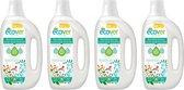 Ecover Wasmiddel Universeel - Kamperfoelie En Jasmijn - 4 x 30 Wasbeurten - Voordeelverpakking