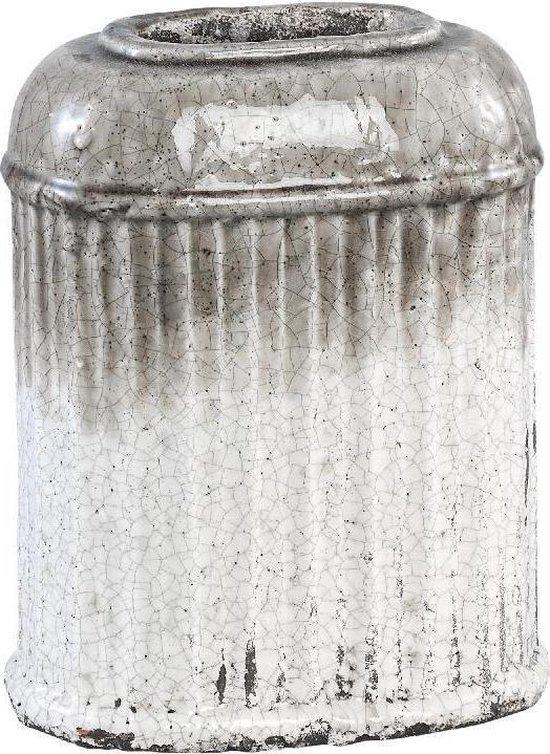 PTMD Pot L Myle taupe 13x25x20 cm
