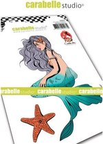 Carabelle Studio • cling stamp A6 mermaid