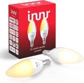 Innr slimme lampen E14 ambiance - werkt met Philips Hue* - Zigbee smart LED - 2 pack