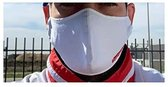 4 stuks Wasbaar Mondmasker,Bescherming masker 3-laags, Standaard Gezichtsbeschermer met uniseks, Herbruikbaar, Mondbeschermers voor outdoor, Sport, Tuinwerk, Reizen