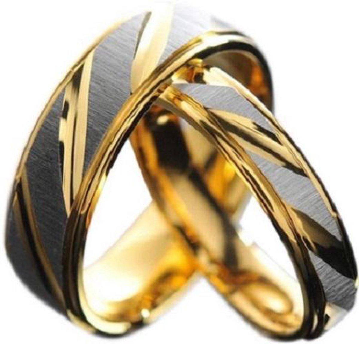 Schitterende Ringen voor hem en haar - Prijs is set van 2 stuks - Jonline