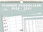 Familieplanner Hobbit familieschoolkalender spiraal basic D1 2020 - 2021 voor maximaal 5 personen (formaat A4)