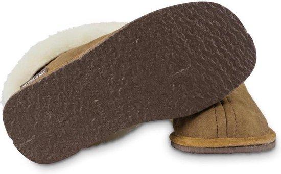 Texelana sloffen en pantoffels voor dames & heren - pantoffel van schapenvacht - model Texla - maat 44