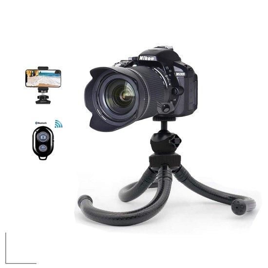 Picca flexibele octopus tripod camera statief - voor smartphones en spiegelreflexcamera