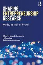 Shaping Entrepreneurship Research