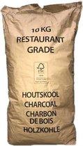 Houtskool 10kg horeca kwaliteit Prodica Holland Eik-Haagbeuk-Es 10kg craftzak maat 40-150