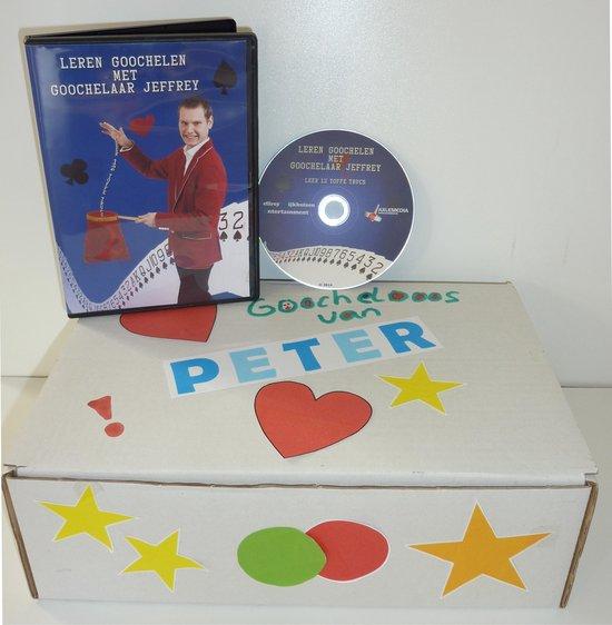 Goocheldoos | Goocheltrucs leren| DVD en online | 12 goocheltrucs | Zelf personaliseren