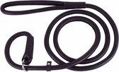 Collar Soft - Rondgedraaide Jachtlijn / Sliplijn - zwart - 135cm lengte - XXS (4mm breed)