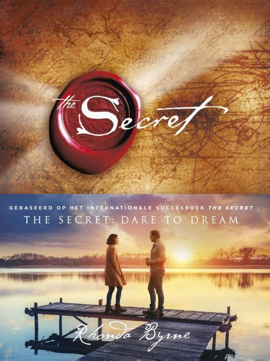 Boek cover The Secret van Rhonda Byrne (Hardcover)