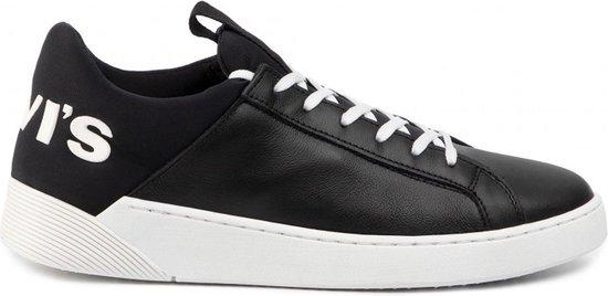 Levi Sneakers - Maat 44 - Mannen - zwart/wit