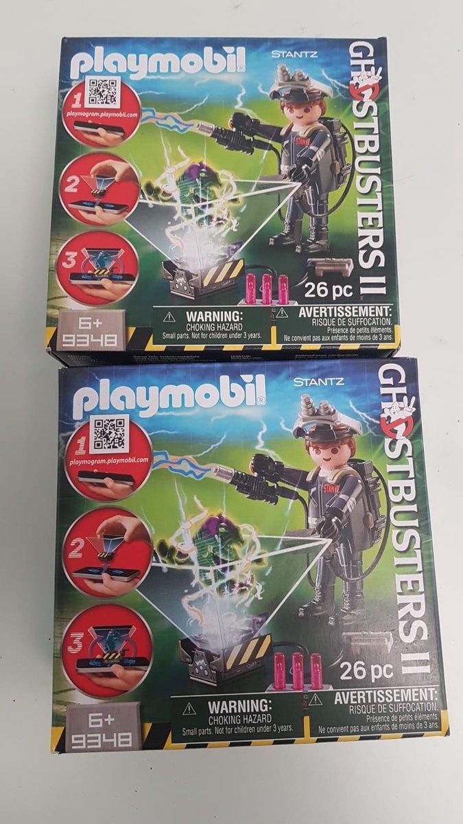 Playmobil ghostbusters 2 stuks