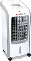 Alpina Aircooler - Luchtkoeler – Airconditioning - Airco – 4 liter – Wit – Met afstandsbediening - Tot wel 270m3