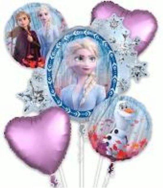 Frozen 2 folieballonnen boeket 5-delig