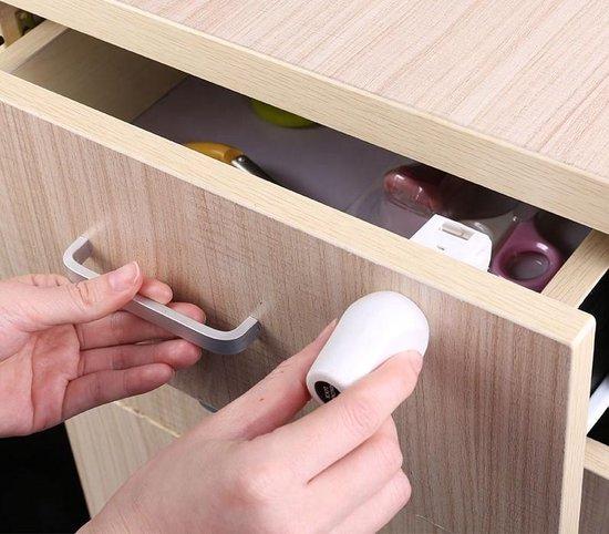 XtraSafe - Magnetisch Verborgen Kinderslot kastjes - Magneetslot - Lade/kast beveiliging - 4 STUKS