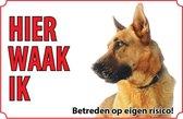 Bord - Hond Duitse Herder