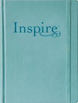 NLT Inspire Bible Large Print, Tranquil Blue