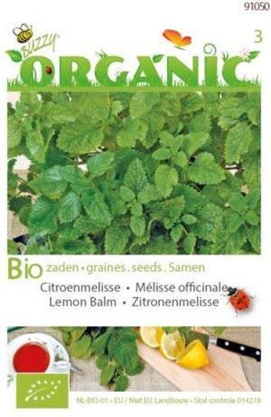 Buzzy® Organic - Citroenmelisse (BIO)