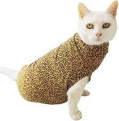 Medical Pet Shirt Kat Luipaard Print - S