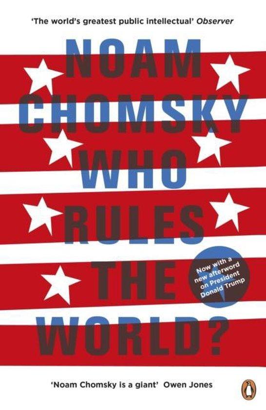 Boek cover Who Rules the World? van Noam Chomsky (Paperback)