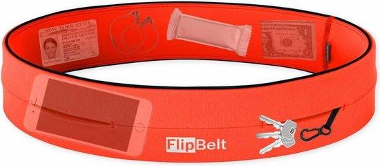 Flipbelt Classic Oranje - Running belt - Hardlopen - L