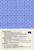 Dubbelzijdig Klevend Transparante A4 Folie - Total 12 Vellen