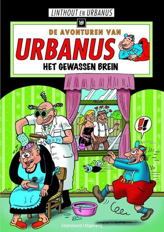 Urbanus 169. het gewassen brein - Willy Linthout pdf epub